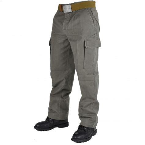 Army-Surplus Army Surplus Moleskin Combat Trousers.