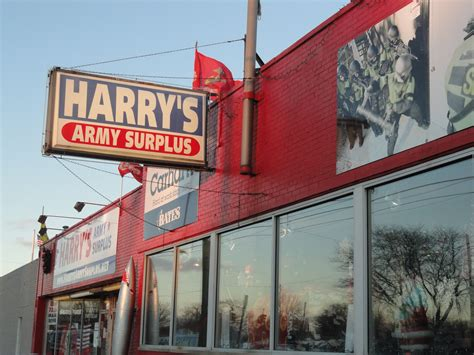 Army-Surplus Army Surplus Morse Road.
