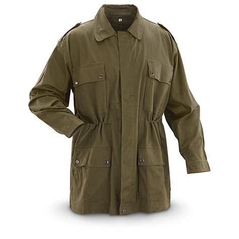Army-Surplus Army Surplus Olive Drab Jacket.
