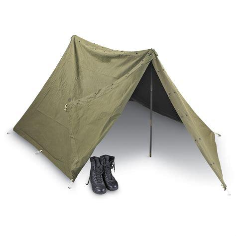 Army-Surplus Army Surplus Pup Tent.