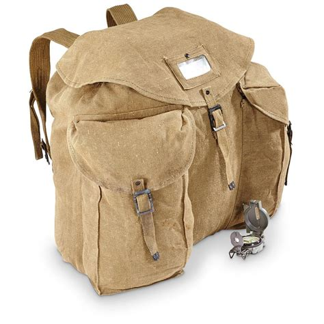 Army-Surplus Army Surplus Rucksack Canvas.