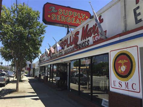Army-Surplus Army Surplus Store Burbank.