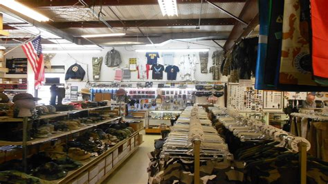 Army-Surplus Army Surplus Store Lake Elsinore.