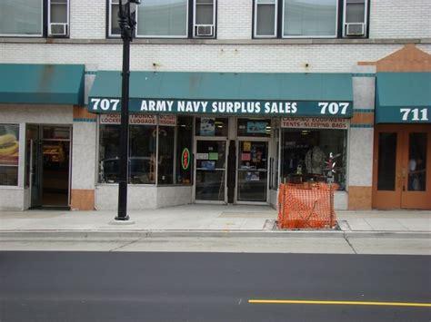 Army-Surplus Army Surplus Store Milwaukee Wisconsin.