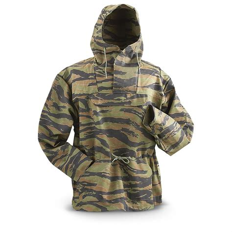 Army-Surplus Army Surplus Tiger Camo Jacket.