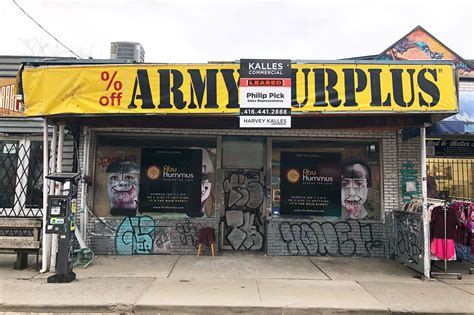 Army-Surplus Army Surplus Toronto Kensington.