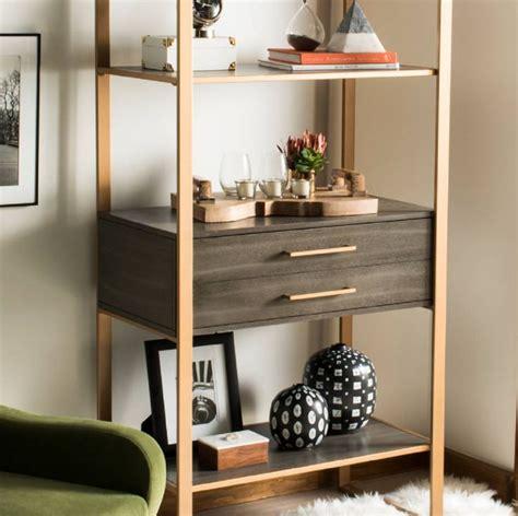 Arnt 4 Tier Etagere Bookcase