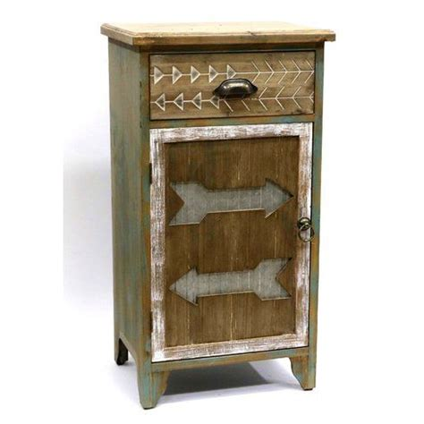 Arrowhead 1 Drawer Accent Cabinet