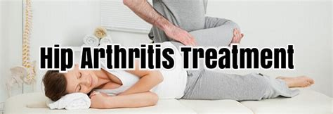 arthritis hip treatments