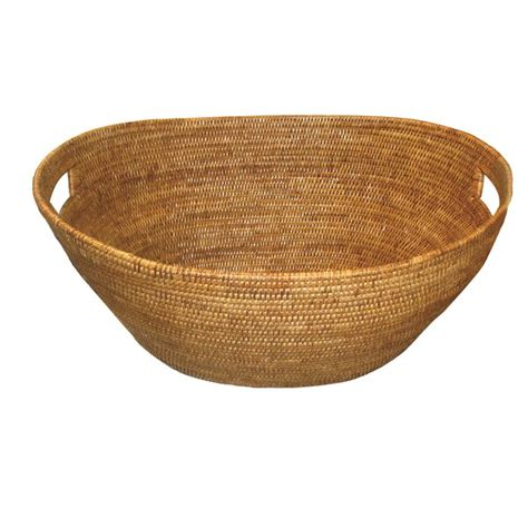 Artifacts Trading Rattan Laundry Basket  Reviews  Wayfair.