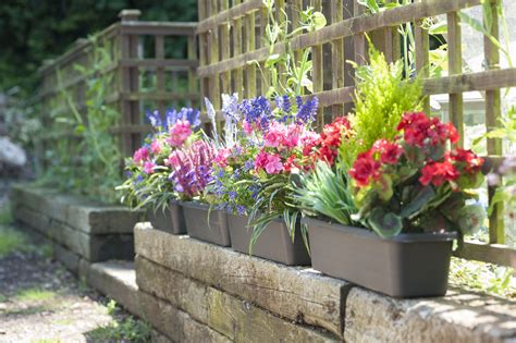 artificial flower window boxes