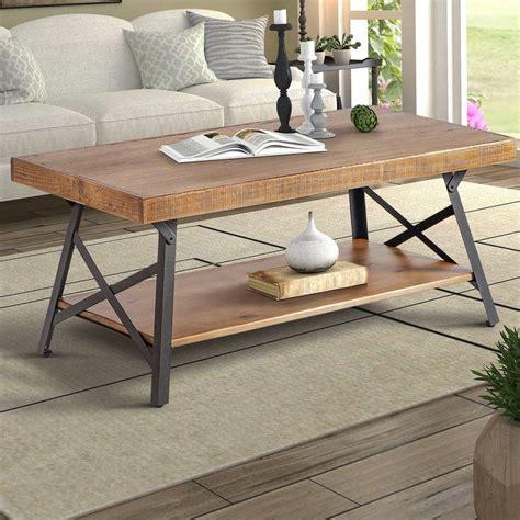 Arundel Coffee Table with Magazine Rack