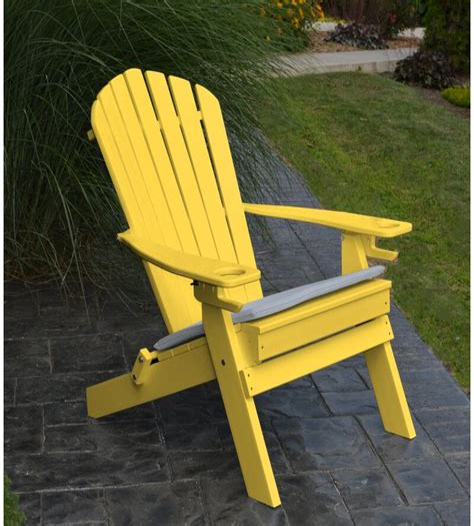 Aryana Plastic Folding Adirondack Chair