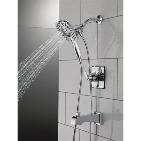 Ashlyn Pressure Balance Tub and Shower Faucet Trim Kit with In2ition Shower