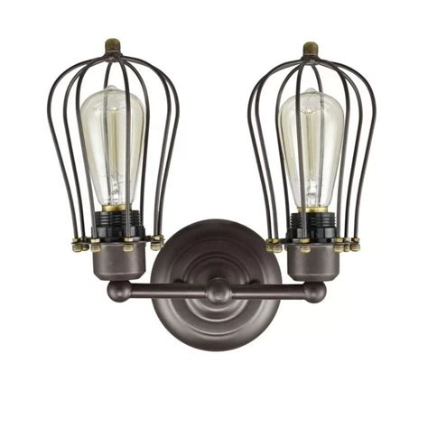 Ashtyn Cage 2-Light Armed Sconce