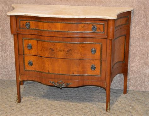 Aspendale Marble Top 3 Drawer Accent Chest
