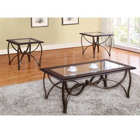 Assante 3 Piece Coffee Table Set