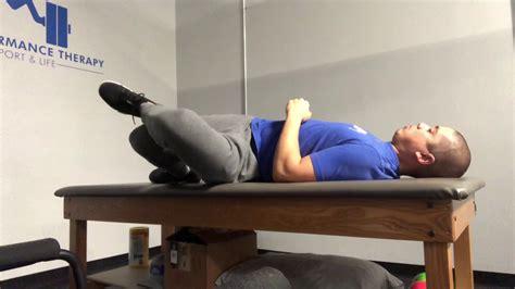 assisted kneeling hip flexor stretch samurai x