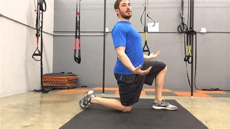 assisted kneeling hip flexor stretch youtube sciatica