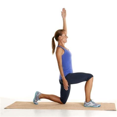 assisted kneeling hip flexor stretches yoga