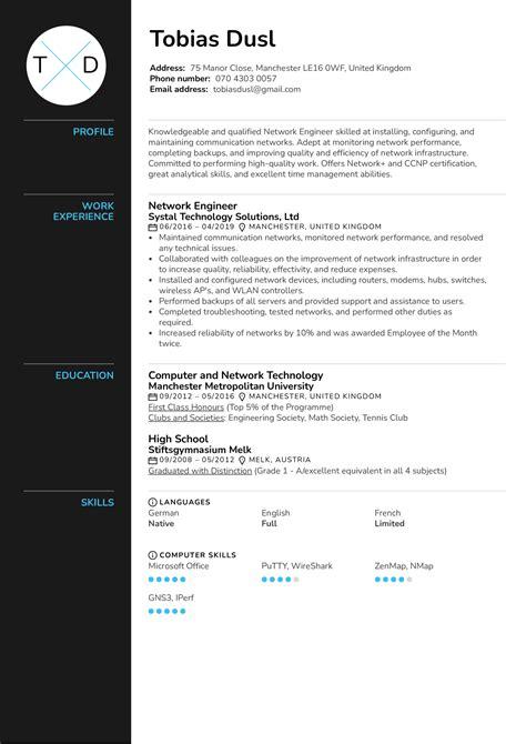 associate network engineer resume sample amazing resume creator - Associate Network Engineer