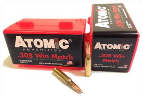 Ammunition Atomic Match Ammunition 308