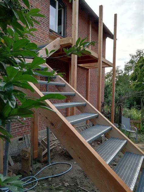 Außentreppe Bauen