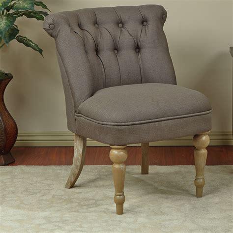 Aubrey Tufted Slipper Chair