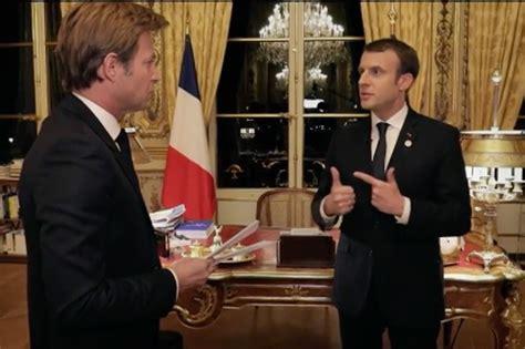 Court Audience Attire Audience Dcevante Pour Linterview De Macron Sur France 2