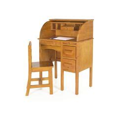 Auer 2 Piece Roll Top 27 Writing Desk Set by Harriet Bee