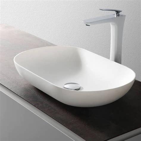 Aufsatzwaschbecken Oval Klein