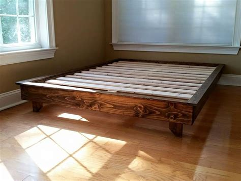 Ava Solid Wood Platform Bed by PeaceLoveWood