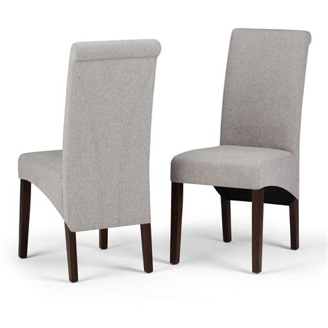 Avalon Deluxe Upholstered Dining Chair (Set of 2)