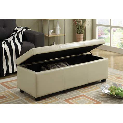 Avalon Rectangular Storage Bench