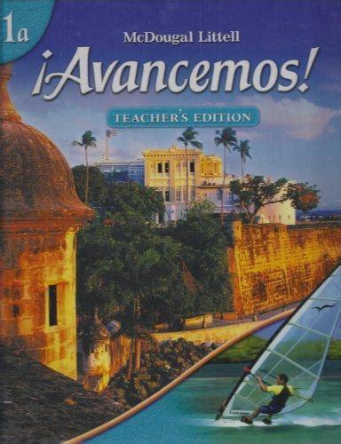 Read Books Avancemos!, Level 1a   Teacher's Edition Online