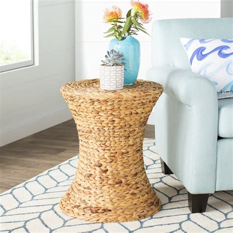 Ayleen Water Hyacinth End Table