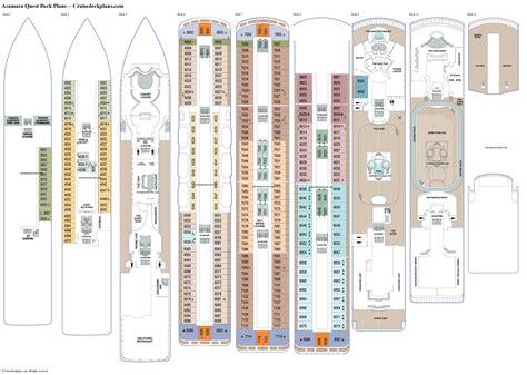 Azamara Quest Deck Plans