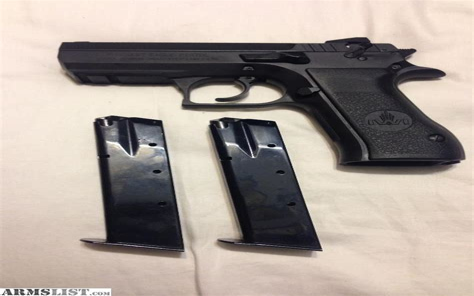 Desert-Eagle Baby Desert Eagle Ii 9mm Steel Semi Compact 15 Round.