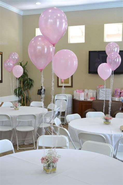Baby Shower Table Decorations Diy