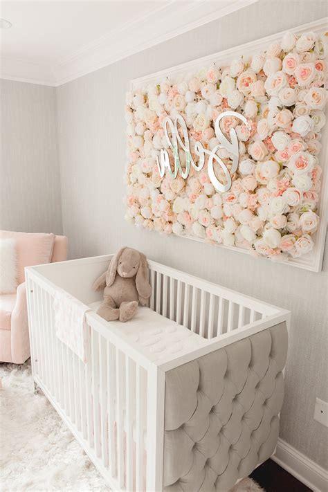 Babyzimmer Wandgestaltung Mädchen