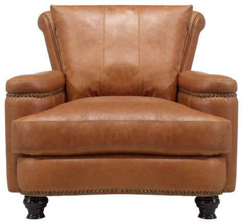 Bach Top Grain Italian Leather Club Chair