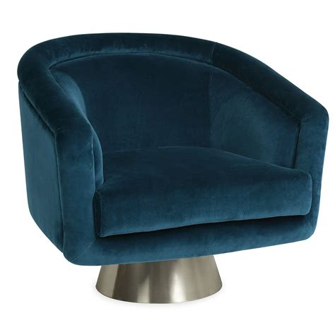 Bacharach Swivel Barrel Chair