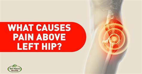 back pain left hip area