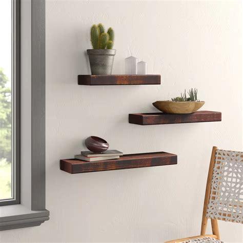 Backer 3 Piece Wall Shelf Set
