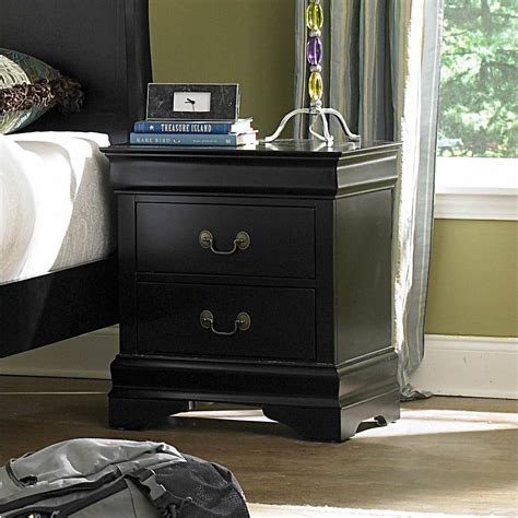 Bader 2 Drawer Nightstand