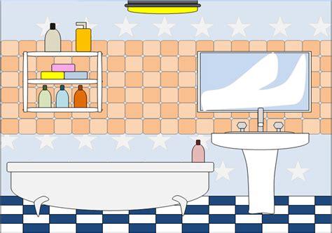 Badezimmer Comic