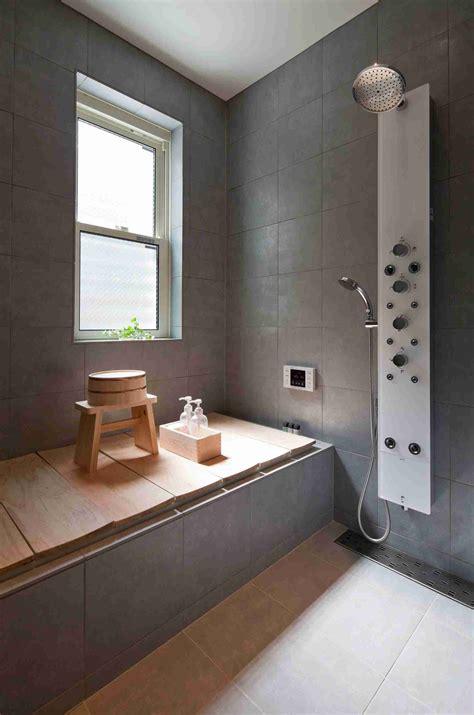 Badezimmer Design Grau