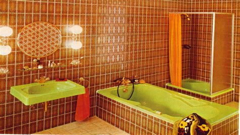 Badezimmer Fliesen 80er Jahre