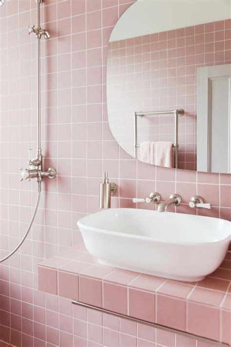 Badezimmer Fliesen Rosa