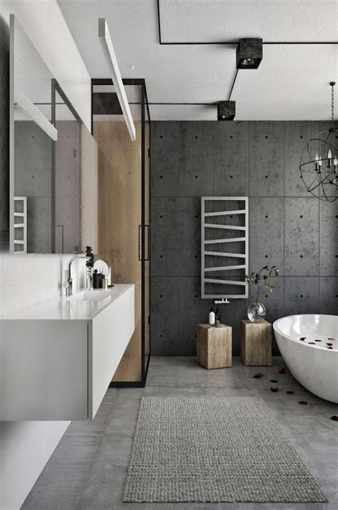 Badezimmer Gestalten Grau